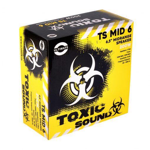 "Упаковка Ultimate Toxic Sound TS MID 6 6,5"" PA Speaker Среднечастотный динамик (СЧ), спикер"